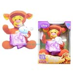 Sold Out Disney's Fisher-Price -Winnie the Pooh-Musical Glow Tigger Toy Gift- Orange Brown